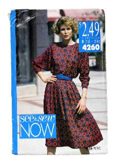 1980's Womens Totally 80s Pattern