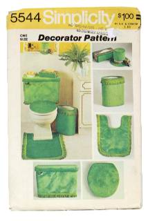 1970's Home Decor Pattern