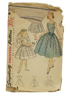 1940's Womens/Childrens Pattern