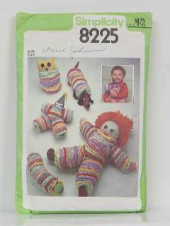 1970's Craft/Doll Pattern