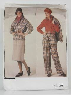 1990's Womens Wicked 90s Pattern