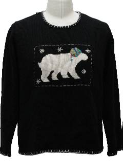 1980's Unisex Understated Ugly Christmas Sweater