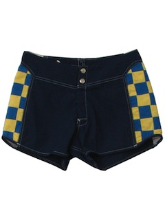 1990's Mens Totally 80s Surf Shorts