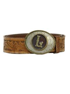 1970's Mens Accessories - Designer Leather Western Belt