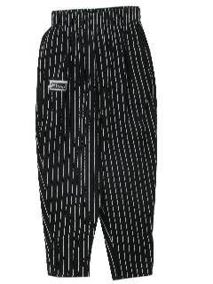 1980's Unisex Totally 80s Baggy Chef Pants