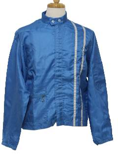 1960's Mens Mod Racing Jacket