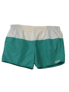 1980's Mens Swim Trunks Shorts