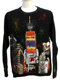 1990's Unisex Vintage Y2k After Christmas Ugly New Years Sweater