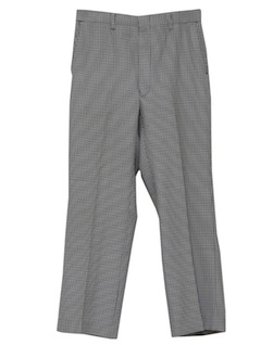 1970's Mens Disco Style Flared Leisure Pants