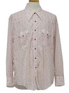 1980's Men Western Shirt