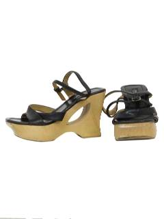 1980's Womens Accessories - Totally 80s Platform Shoes