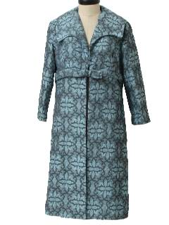 1950's Womens Fab Fifties Robe Style Mod Jacket