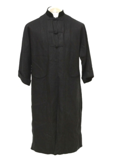1950's Mens Traditional Tang Style Robe Jacket