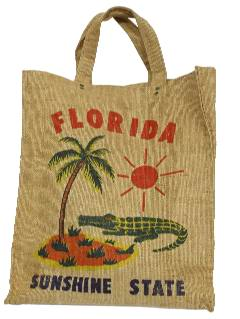 1950's Womens Accessories - Flour Sack Purse