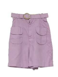 1960's Womens Mod Coolat Shorts
