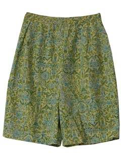 1950's Womens New Look High Waist Shorts