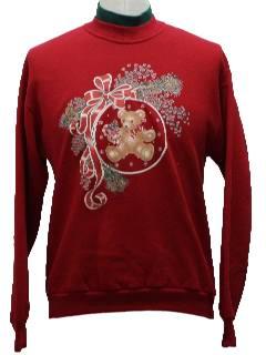 1990's Unisex Bear-ific Ugly Christmas Sweatshirt