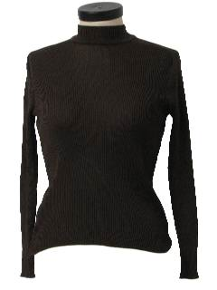 1970's Womens Turtleneck Shirt