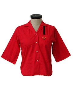 1950's Womens Bowling Shirt*