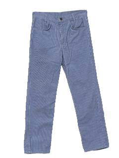 1980's Mens/Boys Corduroy Pants