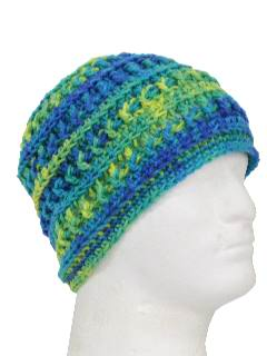 1970's Unisex Accessories Crocheted Hat