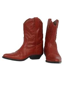 1980's Womens Accessories - Shoes / Western Cowgirl Boots