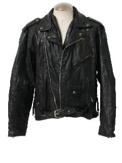 1980's Mens Leather Jacket
