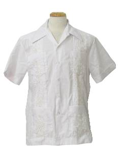 1070's Mens Guyabera Shirt
