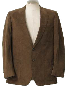 1980's Mens Disco Blazer Style Sport Coat Jacket