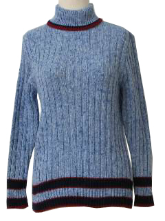 1970's Womens Turtleneck Sweater
