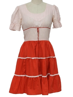 1960's Womens Square dancing Dress