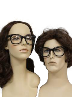 1960's Unisex Accessories - Mod Nerd Glasses