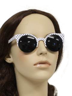 1950's Womens Accessories - Beach Party Style Sunglasses
