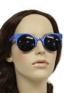 1950's Womens Accessories - Beach Party Mod Style Sunglasses