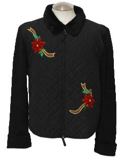 1980's Unisex Ugly Christmas Sweater Jacket