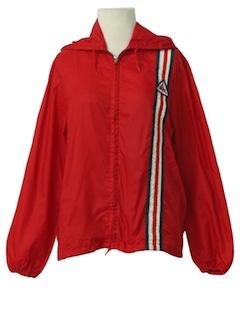1970's Womens Racing Style Windbreaker Jacket