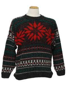 1980's Unisex Ski Sweater