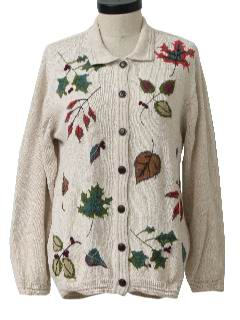 1990's Womens Fall Kitschy Ugly Sweater