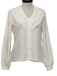 1970's Womens Secretary Shirt