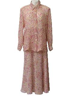 1990's Womens Suit