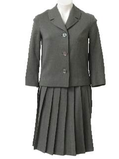 1960's Womens Wool Suit