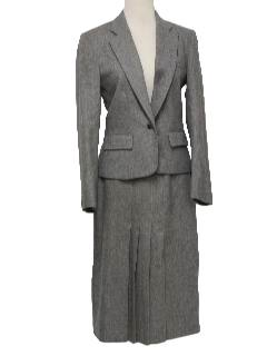 1970's Womens Wool Suit