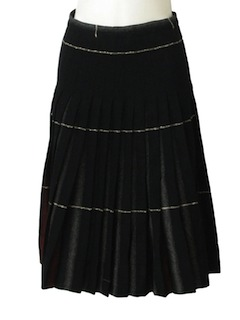 1960's Womens Wool Skirt