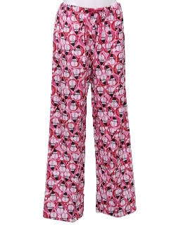 1990's Unisex Accessories - Ugly Christmas Snowman Lounge Pants to wear with your Ugly Christmas Sweater