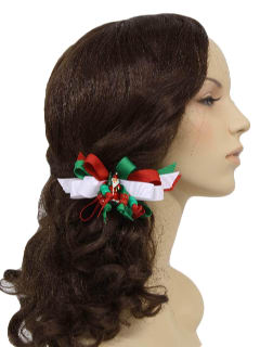1990's Womens Accessories - Ugly Christmas Hair Bow