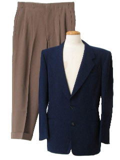 1950's Mens Bold Look Combo Suit