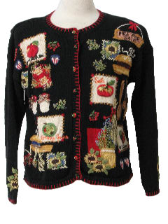1980's Womens Ugly Not-So-Christmasy Sweater