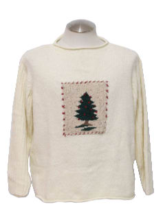 1980's Unisex Not-So-Ugly Christmas Sweater