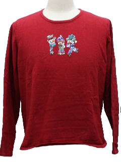 1980's Womens Ugly Christmas Shirt
