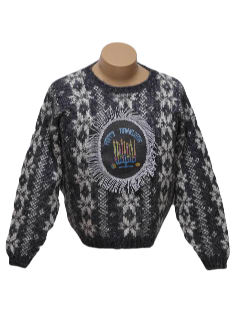 1980's Unisex Ugly Christmas Style Hanukkah Sweater